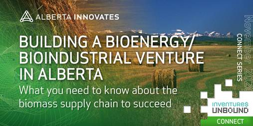 Alberta Innovates Two-Part Bioeconomy Webinar Series: November 26 and December 3