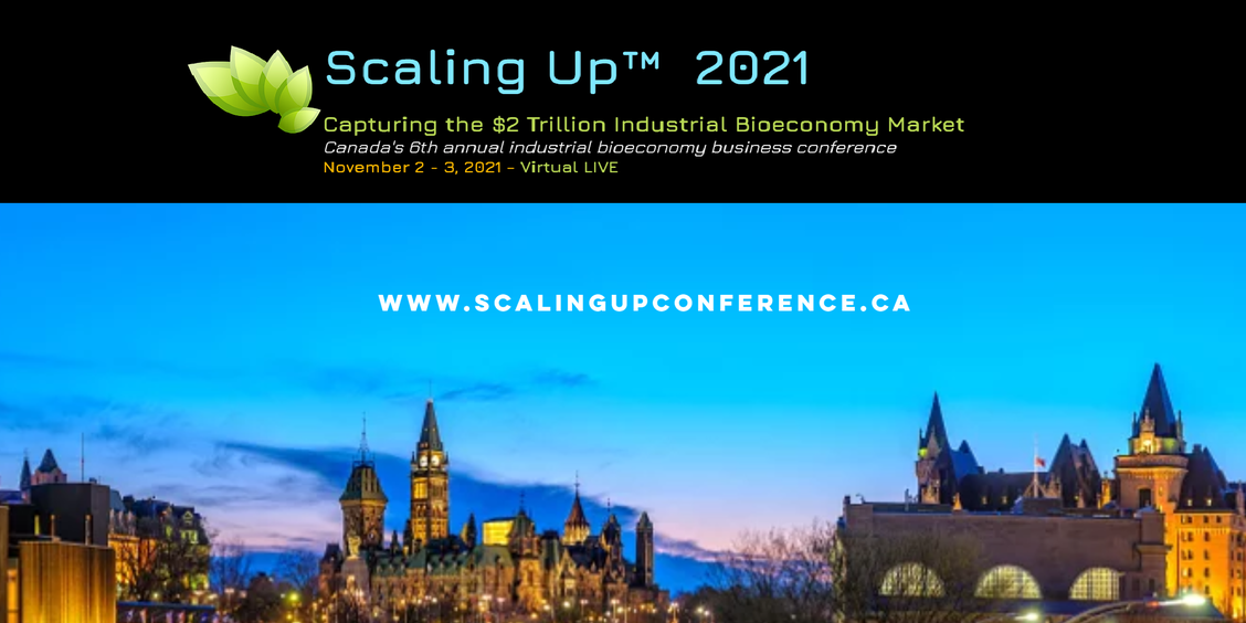 Scaling Up Bioeconomy Conference: November 2-3, 2021